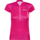 Craft Velo Graphic Jersey korte mouwen Dames rood